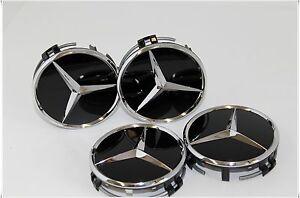 4x AMG Performance Hubcap Wheel Caps Lid A45 CLA45 G63 CLS63 C63 E63 S65