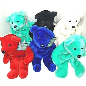 Salvinos Big Bammer Limited Treasures Pro Bears Multi Color Lot Of 6