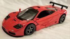 Kinsmart - 1:34 Scale Model 1995 McLaren F1 GTR Red (BBKT5411DR)