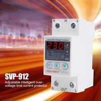 SVP-912 Overvoltage Undervoltage Protective Device Reset Protector Relay US #4
