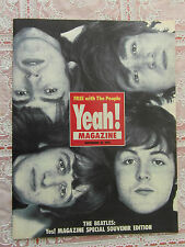 BEATLES YEAH MAGAZINE FREE UK POST