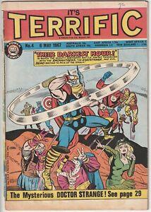 1967 Marvel IT'S TERRIFIC #4 Power Comics Oldham Press AVENGERS #7 UK