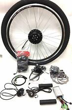 "26"" wheel 36v 250W front wheel electric bike conversion kit with KT 880LED"