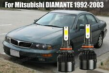 Led For Diamante 1992 2003 Headlight Kit 9006 Hb4 White Cree Bulbs Low Beam