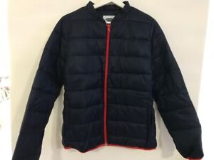 New Old Navy blue Water-Resistant light Packable Quilted jacket women's M $60