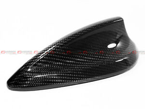 Real Carbon Fiber Antenna Cap Cover FOR 13-18 BMW F30 F22 F32 F36 F80 F82 M3 M4