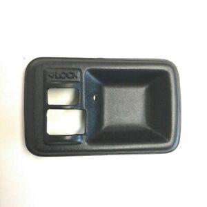 DOOR HANDLE BEZEL DRIVERS SIDE (BLACK) FOR SAMURAI 85-93 ECs