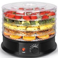 SOHLER électrique rond déshydrateur alimentaire machine 5 plateau de fruit viand...
