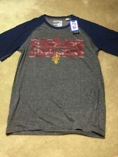NBA CAVALIERS Adidas Men Reflective Authentic Climate Ultimate S/Tee, MED NWT