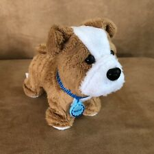 American Girl Doll Meatloaf dog plush animal bulldog retired pet animal
