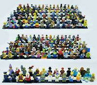 Lego Collectible Minifigure Series Lot - 218 figs 1-18 simpsons movie rare htf