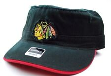 d0346ba1908 Chicago Blackhawks Reebok Women s NHL Military Style Hockey Cap Hat