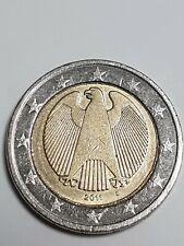 2 Euro Fehlprägung Deutschland 2011 D