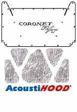 1965 1967 Dodge Coronet Under Hood Cover with MB-065 Coronet R/T