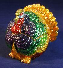 Thanksgiving Turkey Discontinued Rare Collectible Fitz & Floyd Figurine