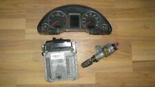 AUDI A4 B7 2004-2008 2.0 TDI ENGINE ECU KIT CLOCKS KEY