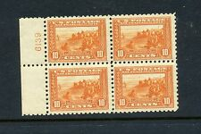 Scott #404 Panama-Pacific Perf 10 Mint Plate # Block of 4 Stamps (#404-blk 3)