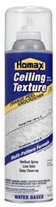 Homax 4067 Acoustic Ceiling Texture Spray Knockdown/Orange Peel 20-Ounce