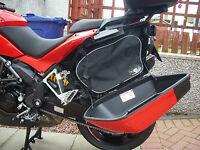 PANNIER LINER BAGS LUGGAGE BAGS  FOR DUCATI MULTISTRADA 1200 *FREE BALACLAVA*