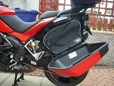 PANNIER LINER BAGS LUGGAGE BAGS  FOR DUCATI MULTISTRADA 1200 *FREE BALACLAVA*