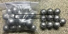 3KG   OF REAL  Size 8 Ball Sinkers 99 GRAMS   X  30 SINKERS