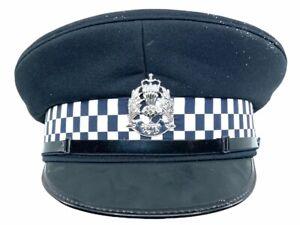 British Scottish Police Other Ranks Peak Cap Hat Size 58