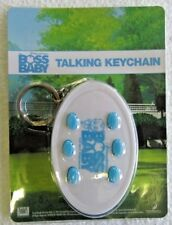 Boss Baby Talking Keychain Key Chain MP3 WAV Format NEW 6 Phrases