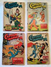 (4) CAPTAIN MARVEL JR.s - 4 Issues #79, 81, 84 & 89, GD to VG