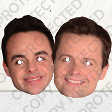 Ant and Dec Celebrity Face Masks - Great for Parties - #MP6
