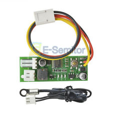 DC 12V 3 PWM Fan Temperature Controller Single Channle Speed For PC Chassis Fan
