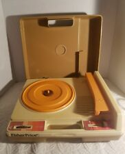 Vintage 1978 Fisher Price WORKING Record Player Turntable #825 33 45 RPM - WORKS