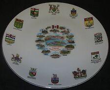 WORLD's FAIR Expo 67 Montreal Canada Plate British Anchor Pavillion Scene