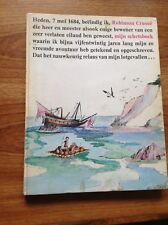 Het Schetsboek van Robinson Crusoe (Dutch) 1973 Hardcover.