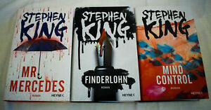 Stephen King Mr. Mercedes Finderlohn Mind Control gebunden Bill-Hodges-Trilogie