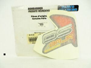 Genuine Can-Am Bombardier DS650 Nose Decal Sticker 2002 2003 704900462