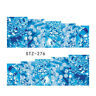 1 Sheet Nail Art Water Transfer Decal Ocean Sky Style Manicure DIY STZ-275/276