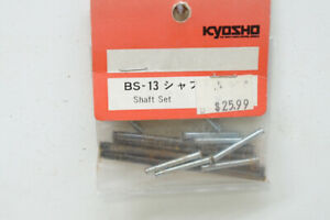 Vintage Kyosho BS-13 Wisbone Pivot Pin set Turbo Burns