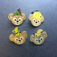 WDW - 2012 Hidden Mickey Series - Duffy's Hats 4 Pins Disney Pin 91236