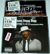 2PAC SNOOP DOGG 2 IMPORT CD SEALED 1997 DEATH ROW RAP FUNK UK Dj nwa tupac lp 12