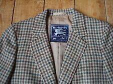 BURBERRY PRORSUM ladies check wool jacket VGC RRP £1650 size UK12