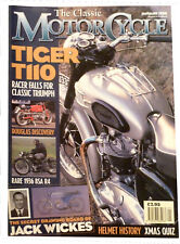 The Classic Motorcycle Magazine - January 1998 - Tiger T110
