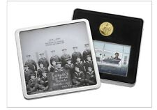 2010 Canadian Navy 100th Anniversary $1 Gold-Plated Coin & Stamp Set