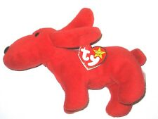 Ty Beanie Babies Baby Rover The Red Dog P.V.C Pellets 1996 Style 4101