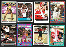 (8)Ct. Lot SI for Kids VOLLEYBALL Cards-April Ross/Logan Tom+ (Beach/Olympic)