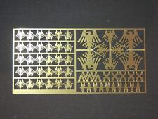 Warhammer 40,000 Raven Guard Space Marine Chapter & Squad Symbols Brass Etch