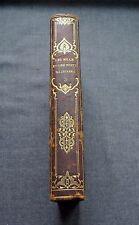 ANTIQUE CIRCA 1850 LES MILLE ET UNE NUITS TOME 3 GARNIER PARIS W| 3 PRINTS BOOK
