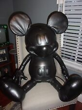 """NEW Disney X Coach  Mickey Mouse Doll Large Leather 38"""" NWT RARE Limited Edition"""