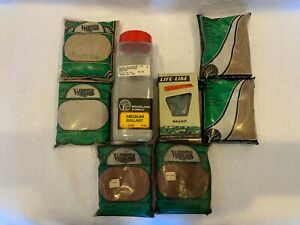 Woodland Scenics HO Scale Lot of 7 Ballast plus one Life-Like