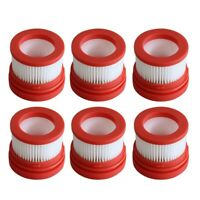 6 Pcs Filter for Xiaomi Dreame V9 Household Wireless Handheld Vacuum Cleane P8U7