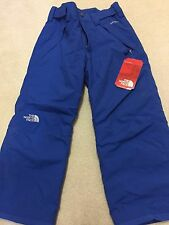 the north face freedom insulated pants youth s 7/8 snorkel blue uvp 110
